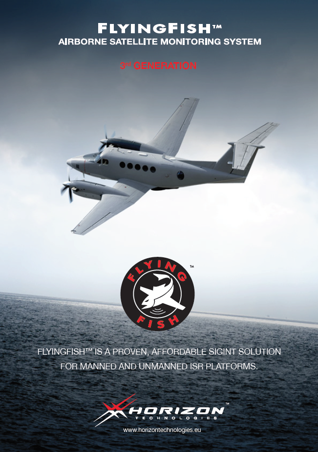 FlyingFish, Airborne Satellite Monitoring System, 3rd Generation Brochure