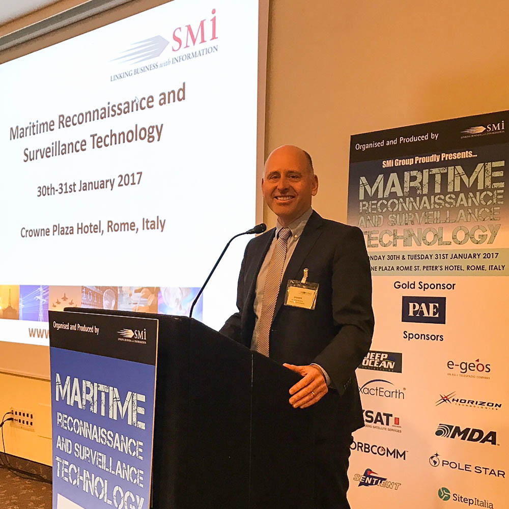 John Beckner at SMi's 2nd Maritime Reconnaissance and Surveillance Technology Conference