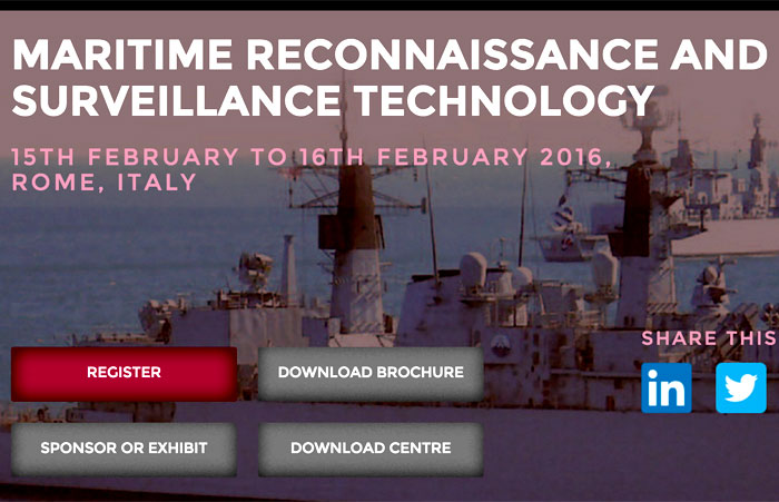 Maritime Reconnaissance And Surveillance Technology Event