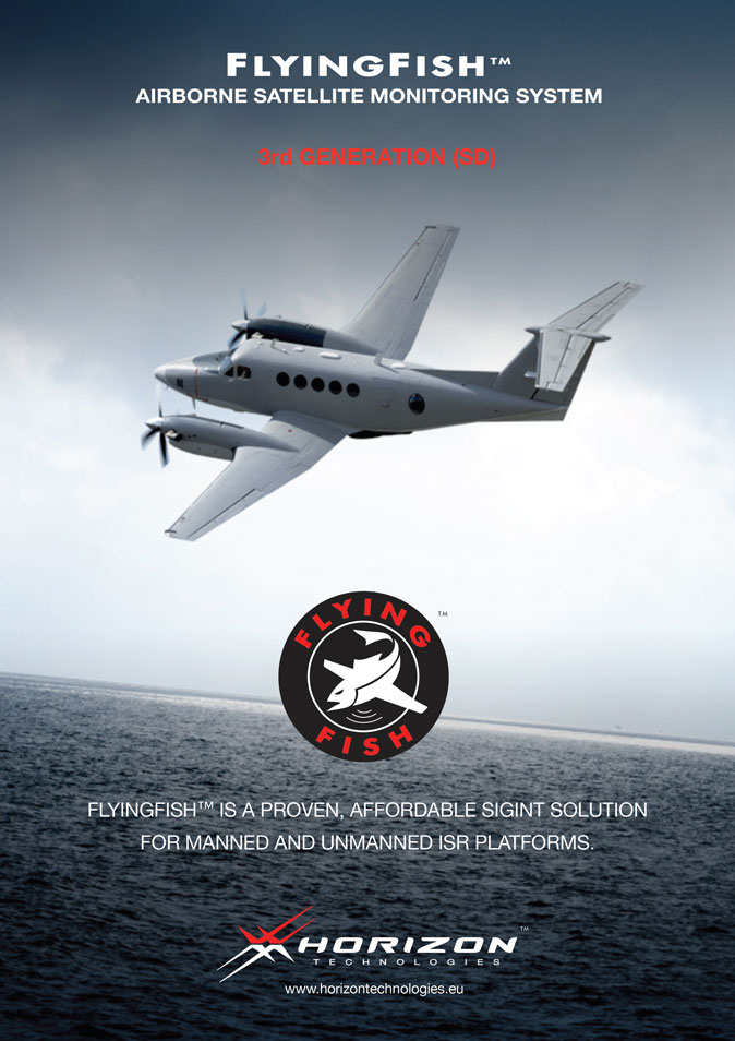 Horizon Technologies to exhibit at DSEI 2017. FlyingFish, Airborne Satellite Monitoring System. Affordable SIGINT solution for manned and unmanned ISR platforms