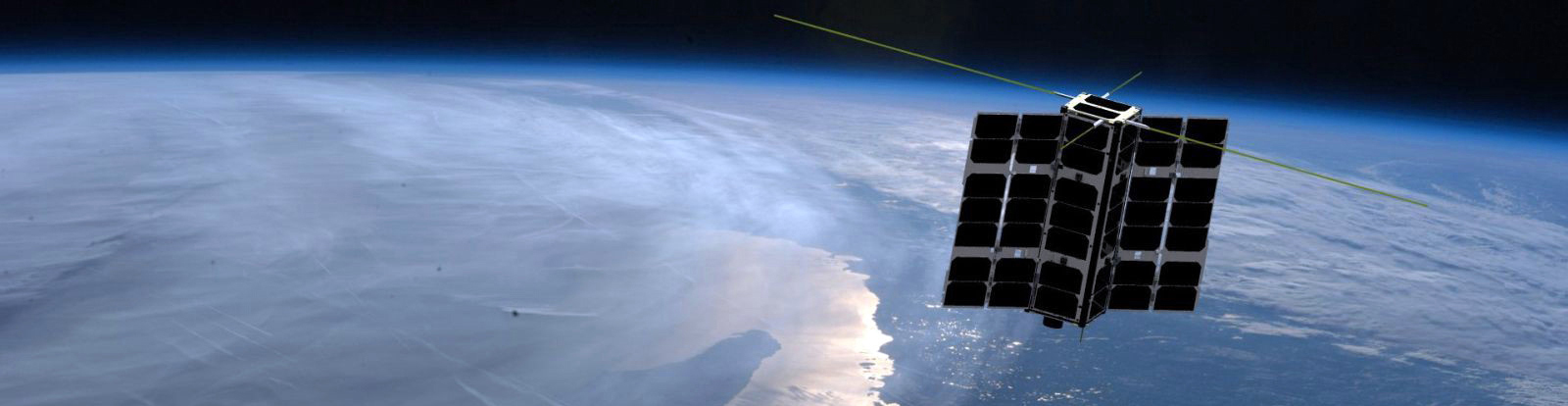 "Horizon Technologies' ""Amber"" their FlyingFish™ solution for the CubeSat market. SIGINT"