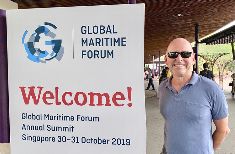 Horizon CEO John Beckner attended the Global Maritime Forum Annual Summit in Singapore.