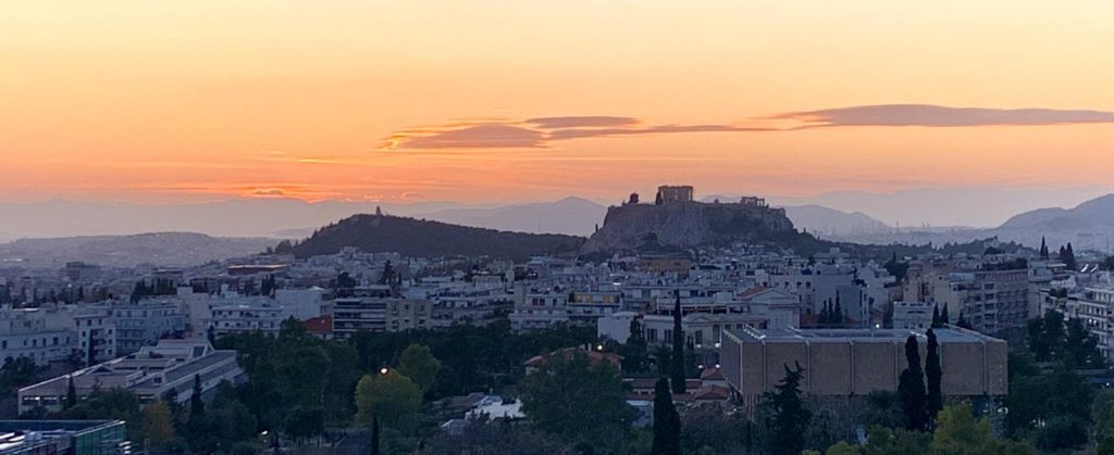Views of Athens, site of the Horizon Technologies Amber™ User Workshop